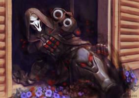 Reaper - Overwatch by iBralui