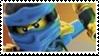 [Ninjago] Jay Stamp by SarahStoorne