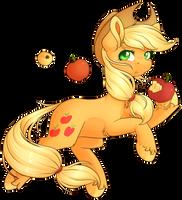 Applejack by Ak4neh