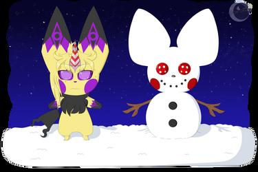 [GC] Model For A Snowman [Secret Santa] by LunarCherub