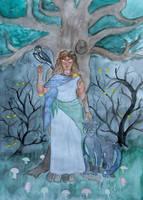 The Druid by Lucyndaria
