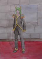 Green Hair by Lucyndaria