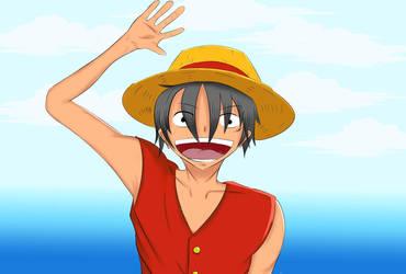Luffy! by Vonless