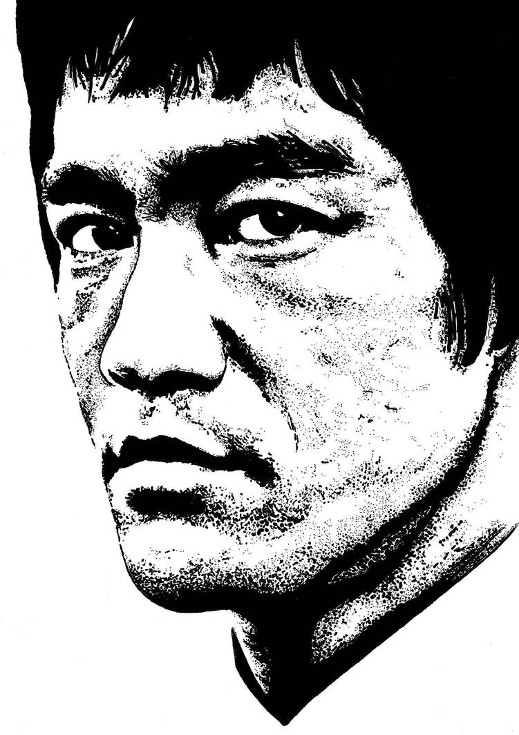 Bruce Lee by Fresno77