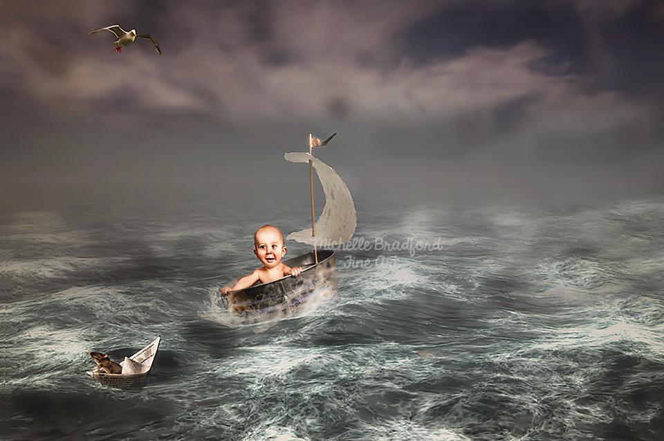 Sailing by MichellewBradford