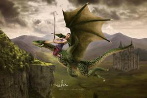Boy On Dragonfb by MichellewBradford