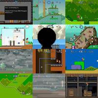 Super Mario Bros Doomsday Screenshots (July 2016) by BuzzNBen