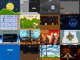Super Mario Bros Doomsday Final Screenshots (2017) by BuzzNBen