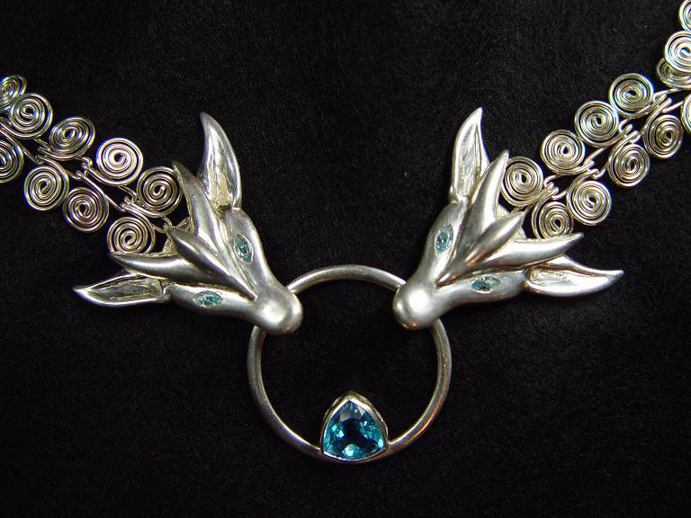 Dragon chain by StephaniePride