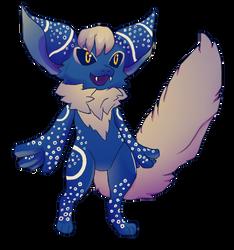 Foxy critter by aileri