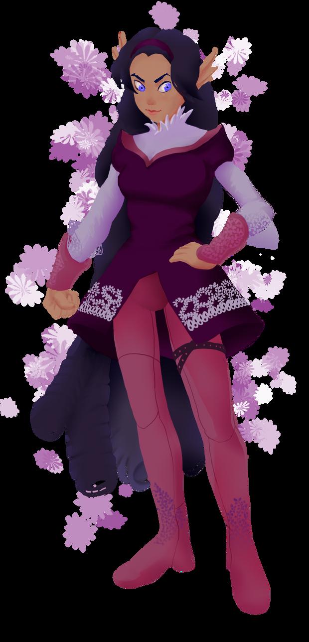 Flower Warrior by aileri