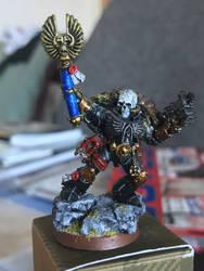 Crimson Fists: Chaplain by Zauberlich