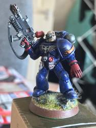 Crimson Fists: Veteran by Zauberlich