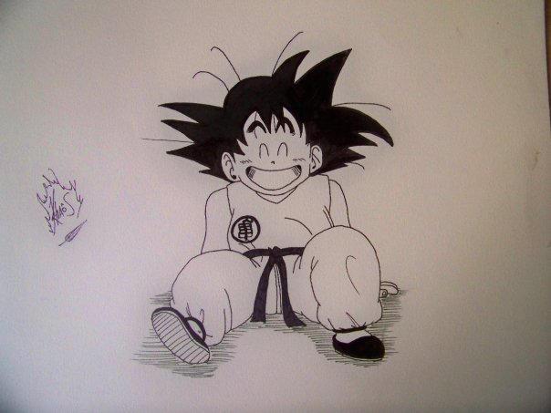 Goku by baakayara