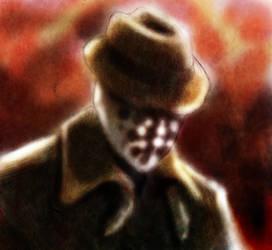 Rorschach Fan Art by BartBar
