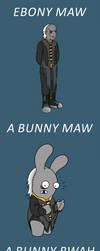 Abunny Maw by GarfieldXRabbid