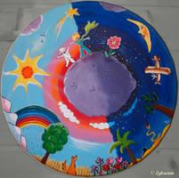 'Le monde du Petit Prince', fan art by Lylawenn