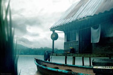 Anzali Lagoon by Ramteen