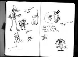 Sketches 3 by JGQuintel