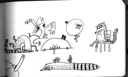 Sketches 2 by JGQuintel