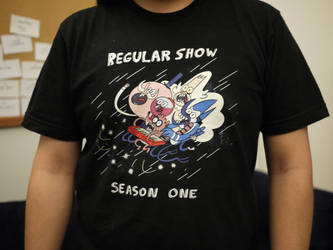 Regular Show Crew Shirt by JGQuintel