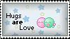Hugs Stamp by Elegant-Rose