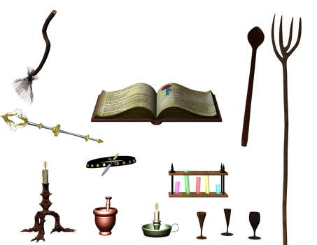 Wiccan accessoires stock by Ecathe