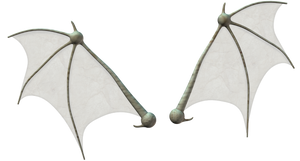 Bat wings stock by Ecathe
