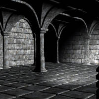 premade  background room 05 by Ecathe