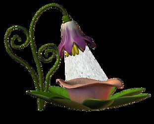 Flower 03 douce by Ecathe