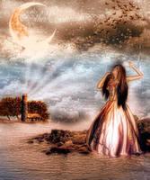 Addio Alla Luna by Ecathe