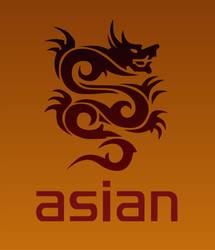 Asian dragon by JM-DG