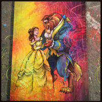 Beauty and the Beast by shanegrammerarts