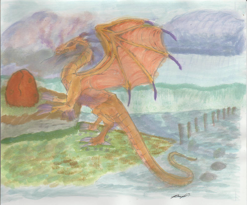 A Dragon's Treasure [Contest] by Mrs-Elizabeth