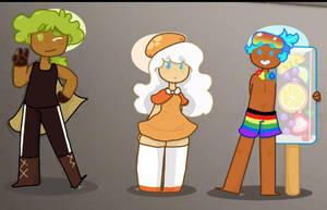 Cookie Run Cuties  by FandomTrashCat