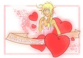 wow valentine card by RainyDaySunshine