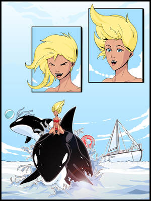 Orcas New by RainyDaySunshine