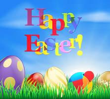 Happy Easter Reddheads 2015 by reddibrek