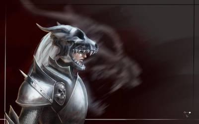Beware of the iron Beast by Kenji8311