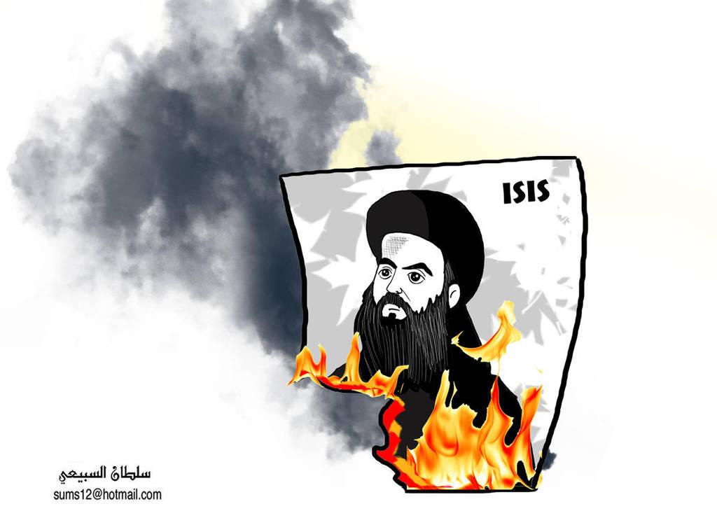 isis burn by sultan999