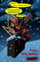 Deadpool X-Mas Special by Mystic-Forces