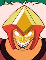 Jasper Headshot - Flat Colors by Mystic-Forces