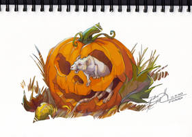 Happy Pumpkin-day! by Karrakas