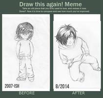 Draw this again! Meme 2014 by To-Ka-Ro