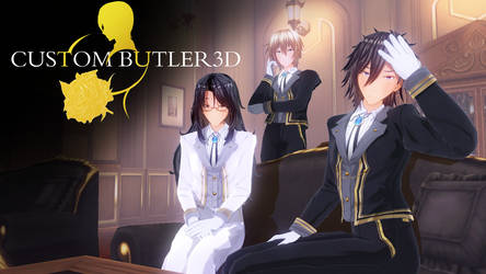 Custom Butler 3D by Lazy-Gamer