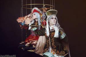 Alichino: Myobi and Tsugiri by Faeryx13