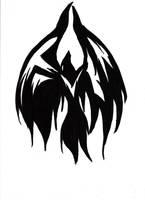 Raven Symbolgram Tattoo by sewreel