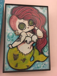 Ariel is a punk rocker by AtomicBunny