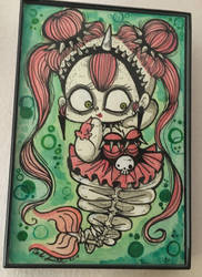 Zombie Mermaid by AtomicBunny