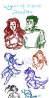 Legend of Korra Doodles by AdventureIsOutThere